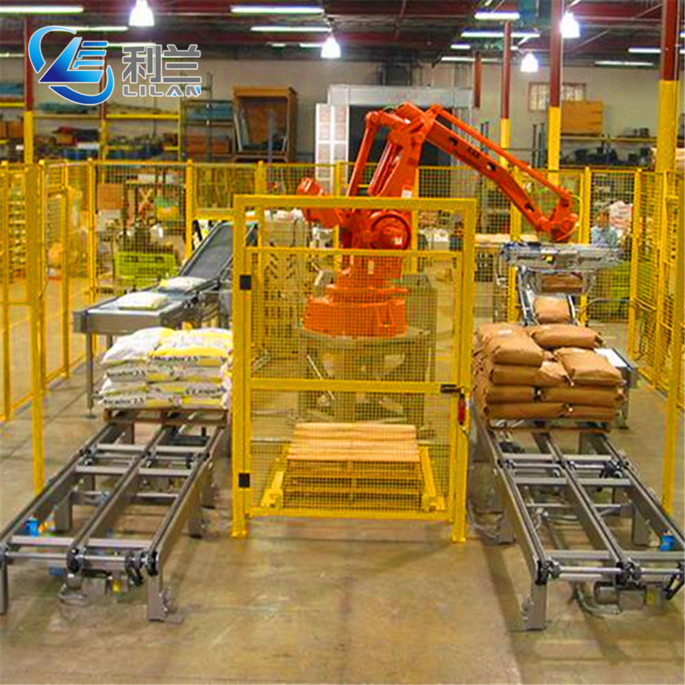 High Productivity Articulated Arm Robot For Fertilizer Post Packaging Line Palletizer