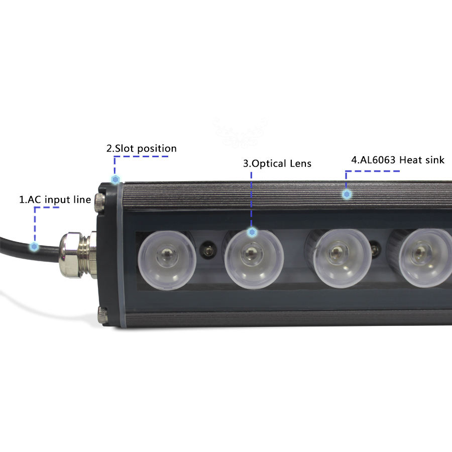China manufacturer 2ft grow light led strip 660nm 450nm blue coral reef used led aquarium light for fish tank