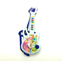 Electric cartoon plastic guitar musical instruments toy