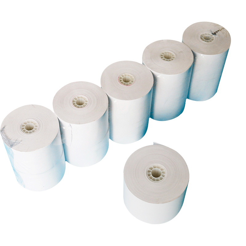 High quality competitive price 80x80/80x70mm thermal cash register paper roll