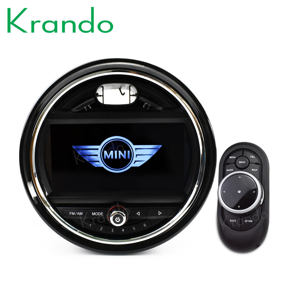 "Krando 7 ""Android 8,1 <span class=keywords><strong>auto</strong></span> radio audio-player multimedia-system <span class=keywords><strong>GPS</strong></span> für BMW Mini Cooper 2014-2017 <span class=keywords><strong>schwarz</strong></span> <span class=keywords><strong>navigation</strong></span> player BT"