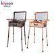 Keyson China trolley professional make up case with light mirror
