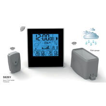 Electronic Wireless Indoor Outdoor Temperature Sensor Rain Gauge Weerstation Weather Stations