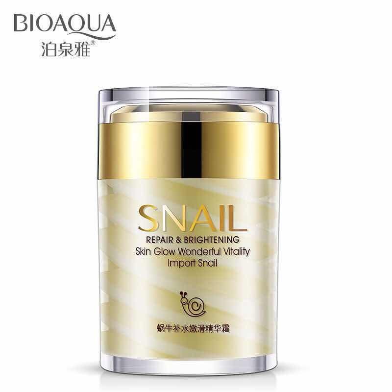 High quality Hot selling Snail Moisturizing Anti-Aging Skin Care Wrinkle Firming Snail face cream