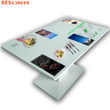 Hot sale double screen interactive screen android table