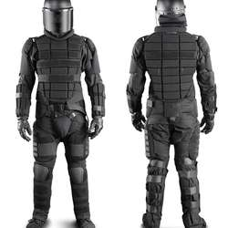 Anti-riot extreme Suit including aluminium stab plate