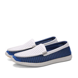 Chinese factory leisure lazy casual boat moccasin men drivin