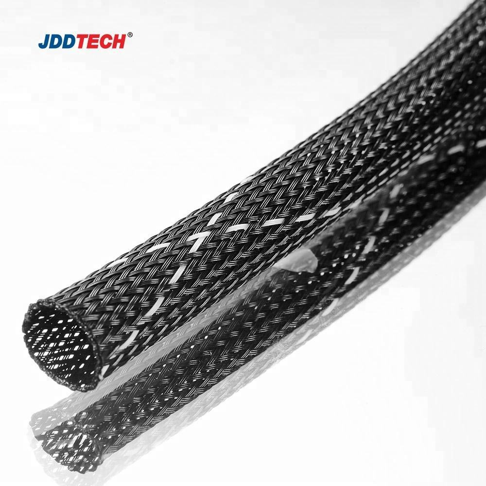 94V-0 high flame-retardant braided sleeving/cable sheathing/braided expandable sleeving