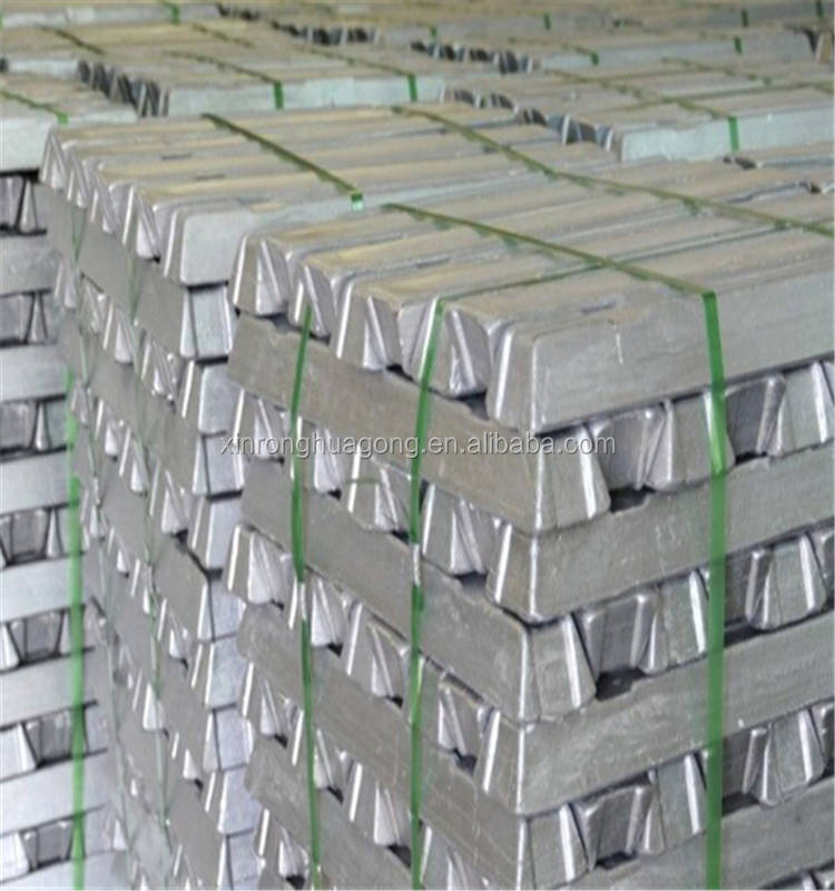 China factory High Purity Aluminum Ingots 99.7%