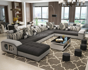 guandong furniture Undersell Modern Cheap Fabric Sofa Set