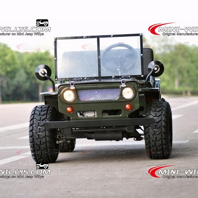 Inflatable แก๊ส Powered Mini Rover Mini Moke รถ Mini Rover Willys MR1101 สำหรับขาย