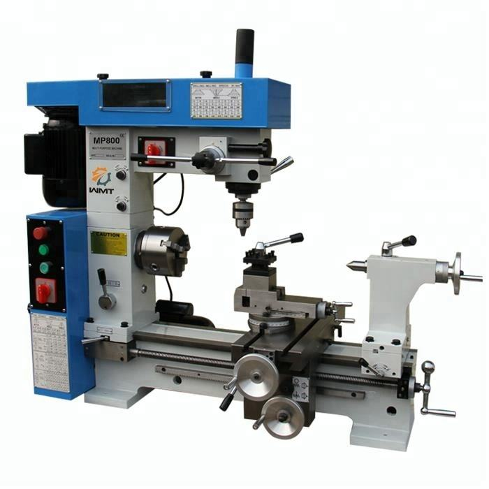 MP800 combined mini metal lathe machine