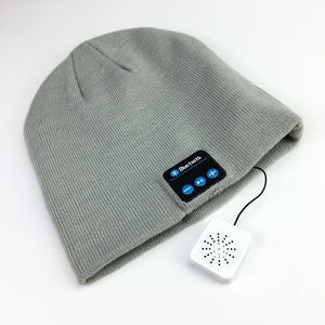 Custom Beanie Bluetooth Headset Warm Beanie Hoed Patroon