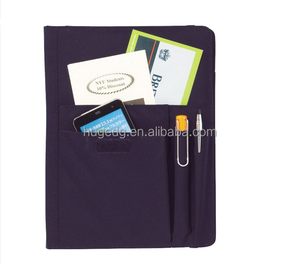 New oxford fabric a5 travel dairy notebook with pockets