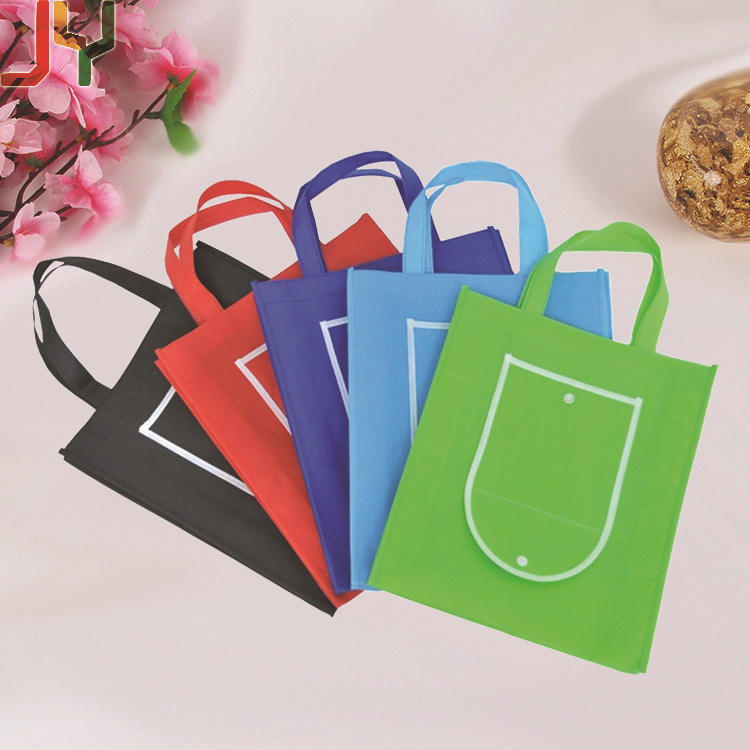 Wholesale customized non-woven hand bag colour environment-friendly shopping bags