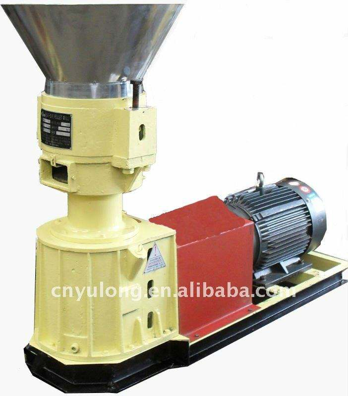 Yulong Small Poultry Animal Feed Pellet Making Machine Skj 250 Price