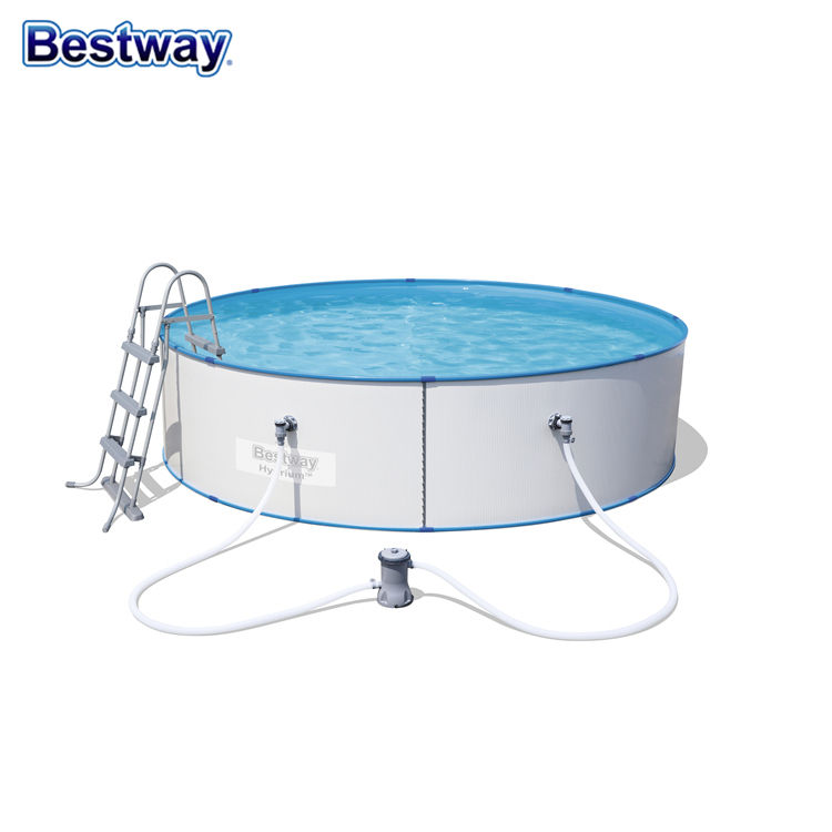 Hot Sale Swimming Pool Round Shape Iron Swimming Pool With Filter Pump