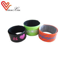 Colorful promotional snap bracelet, snap wristband