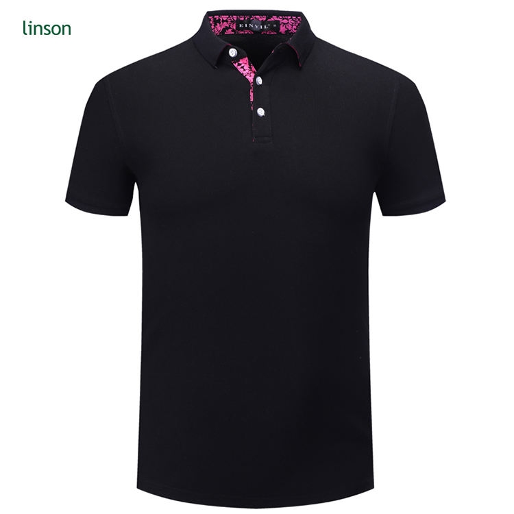 Free sample design custom summer men's short sleeve casual polo shirts