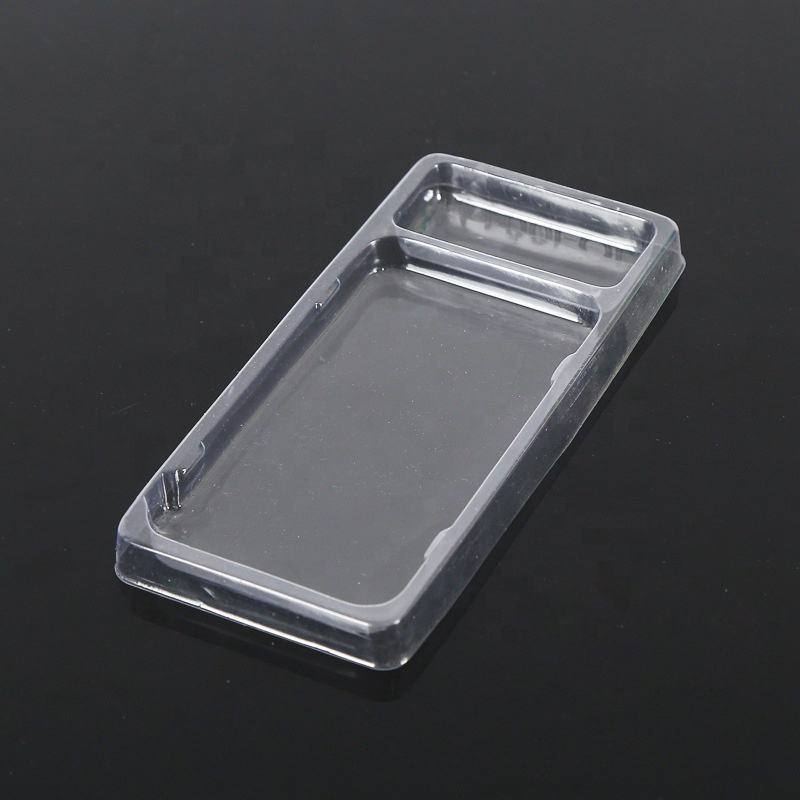 Wholesale PET Plasticcell phone case blister packaging for electronic products