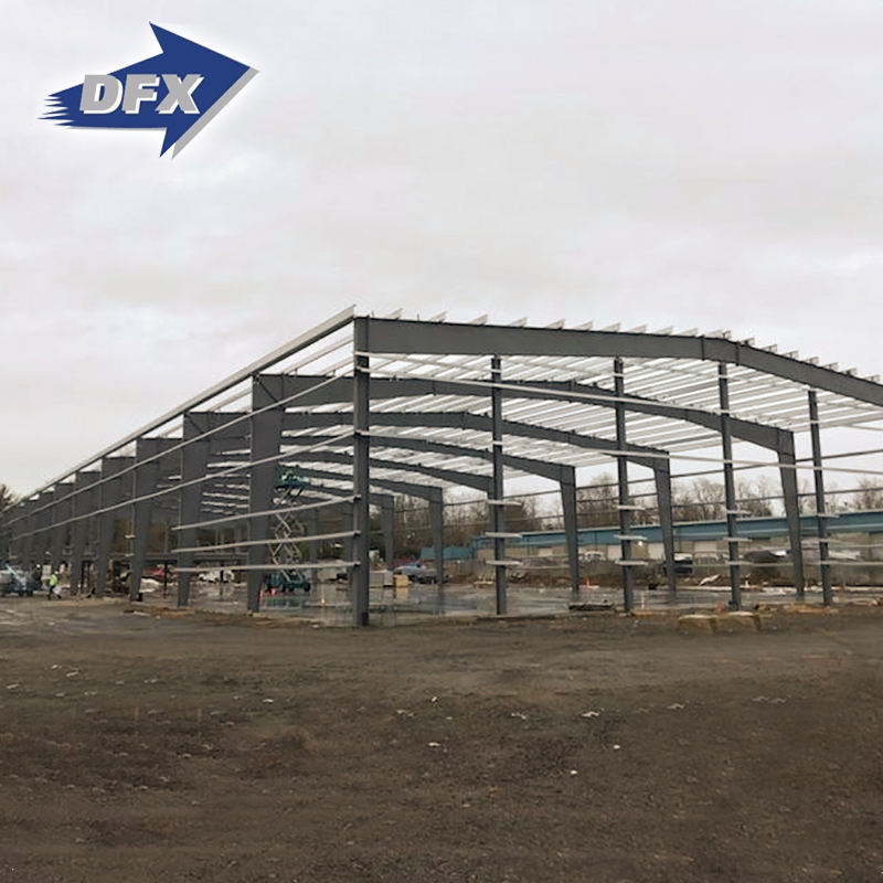 Used For Metal Framework Prefabricated Light Steel Warehouse Construction Building Material