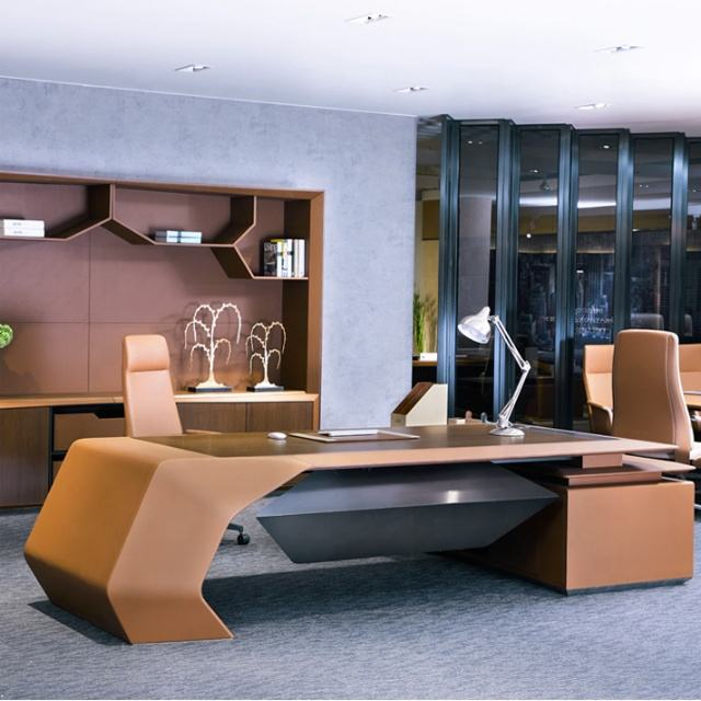 LOPO H-02 executive office furniture desk modern office furniture luxury office furniture