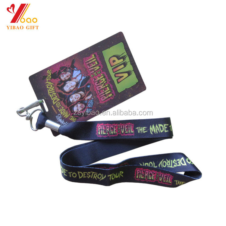 Wholesale cheap custom ID neck strap coloured personalised lanyard