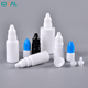5ml 10ml 15ml Plastic Dropper Bottles Plastic 5ml Plastic Dropper Bottle TUV Certification 2ml 5ml 10ml 15ml 30ml 50ml Plastic LDPE Dropper Bottles With Tamperproof Cap