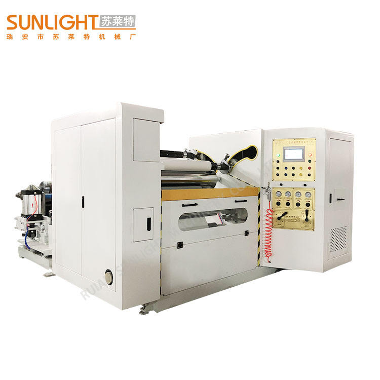 straw paper roll sltting rewinding machine made in china