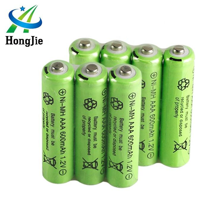 HJ Small High Quality RC Batteries Pack Nimh AAA 600mAh 1.2V Ni-mh Rechargeable Battery