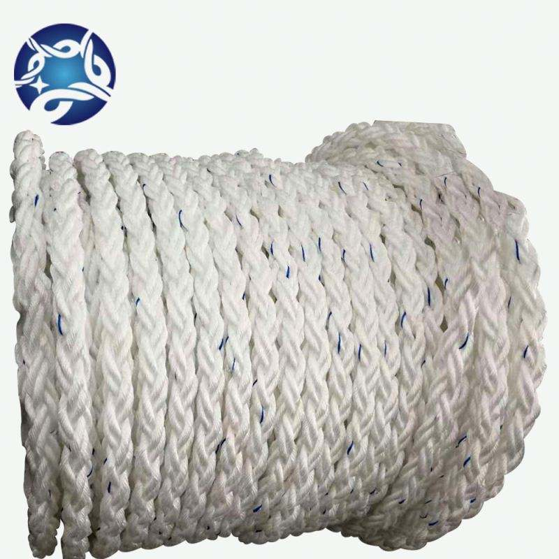 Hard Wearing PP Rope For Moorings Agricultural And Hand Rails