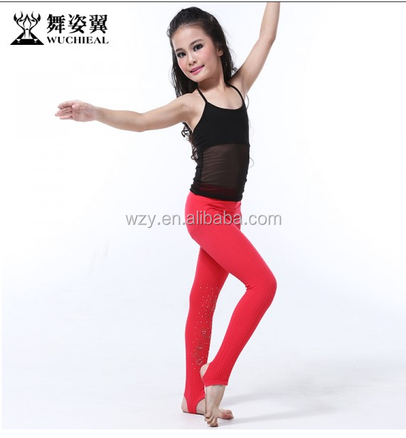 2015 Fashional belly dance top and pants for children (RT030)