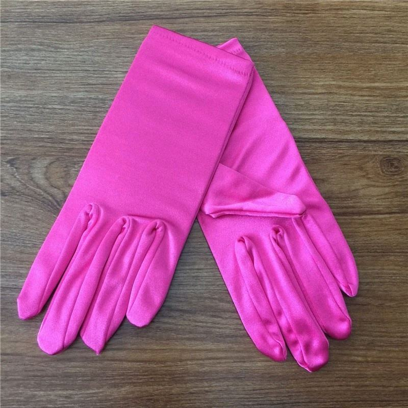 Hot Sale Wedding Party Bridal Opera Stretch Satin Gloves