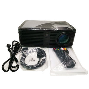 Android WIFI Full HD Real 1080 P LED Proyektor Multimedia 4500 Lumens Lcd Projector untuk Home Theater Video Game