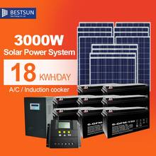 3000w lipo battery pure sine wave inverter portable solar powergenerator energy storage system