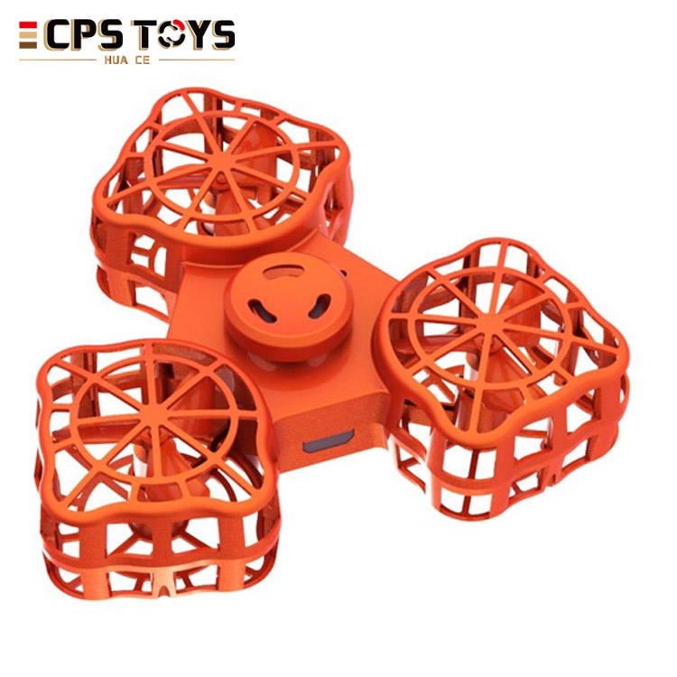2018 trending product stress relief toys flying fidget spinner finger gyro toys for kids and adult