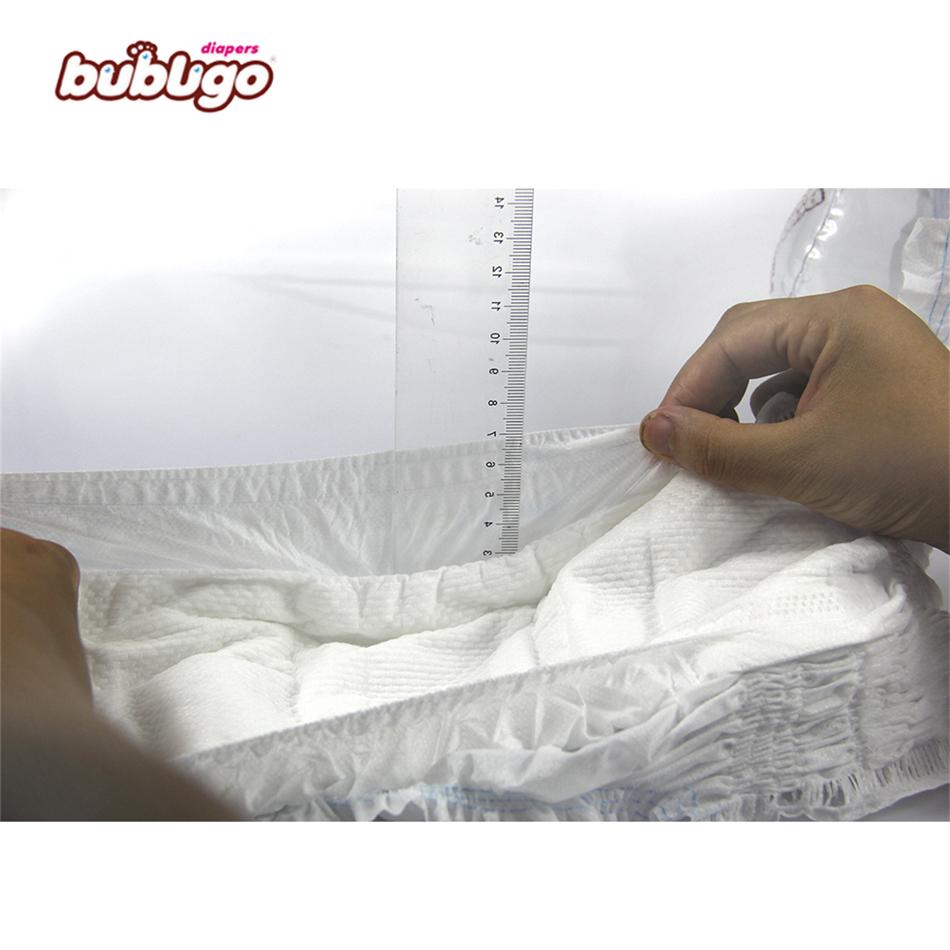 Bubugo ultra fino impreso pañal del bebé no dude pañal planta de fabricación