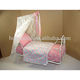 modern metal princess canopy doll bed furniture