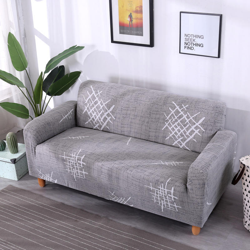 Stretch sectional sofa cover new design full textile stretch elastic sofa cover