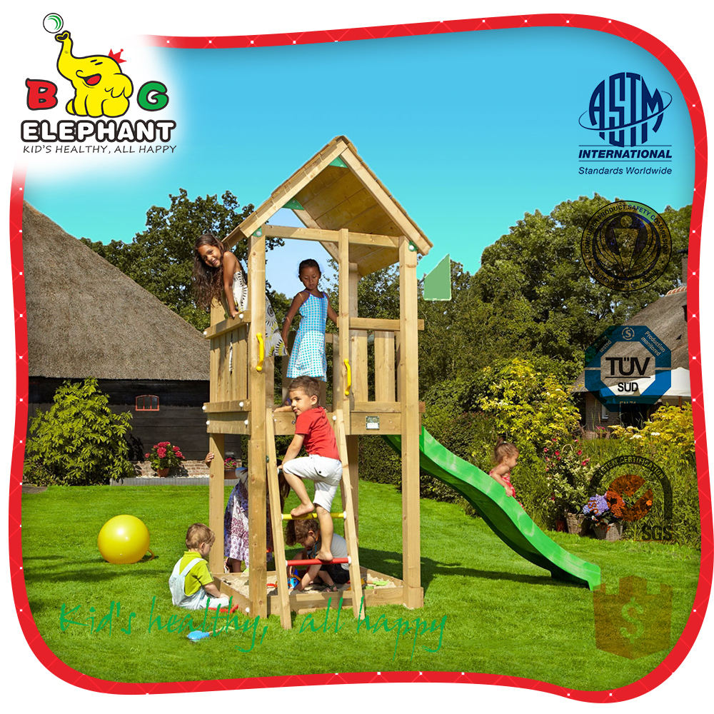 Safe&strong kids outdoor playground set