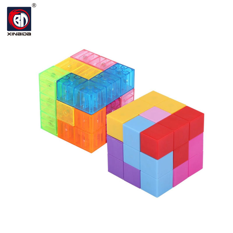 Educational Toys 3D IQ Puzzle Brain Toys Magic Magnet Cube