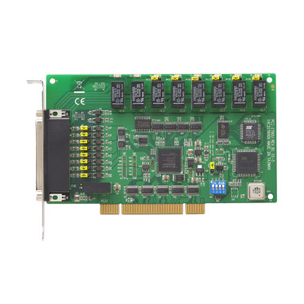 Advantech 8-ch relay dan 8-ch input digital terisolasi yang universal kartu pci PCI-1760U-BE
