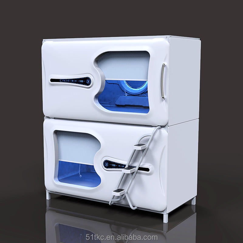M-861 Small size hotel single bed capsule hotel bed