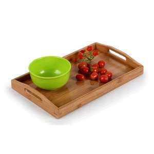 2019 New arrival walnut tray unique serving trays unfinished wood trays