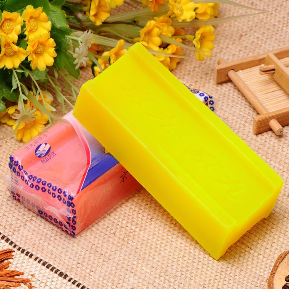300g solid laundry bar soap,different color laundry soap and transparent soap