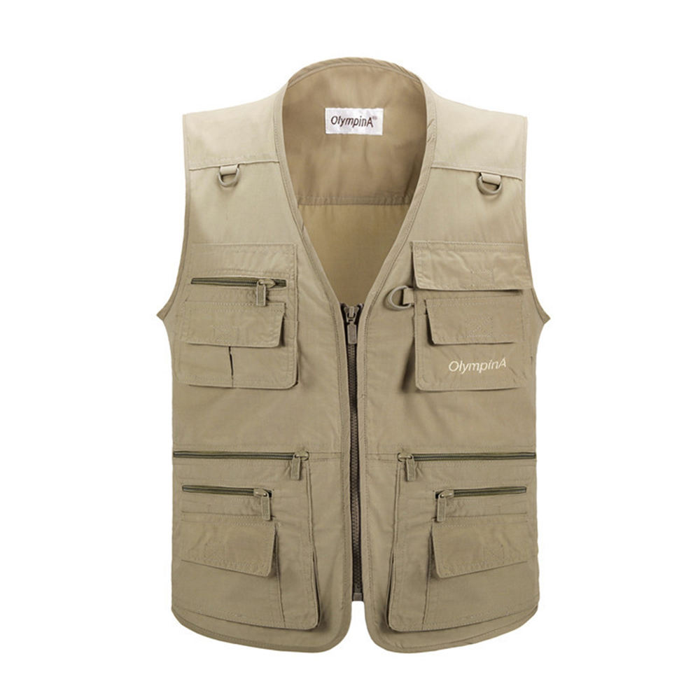 New design, outdoor gear fishing hunting cheap military vest reporter vest