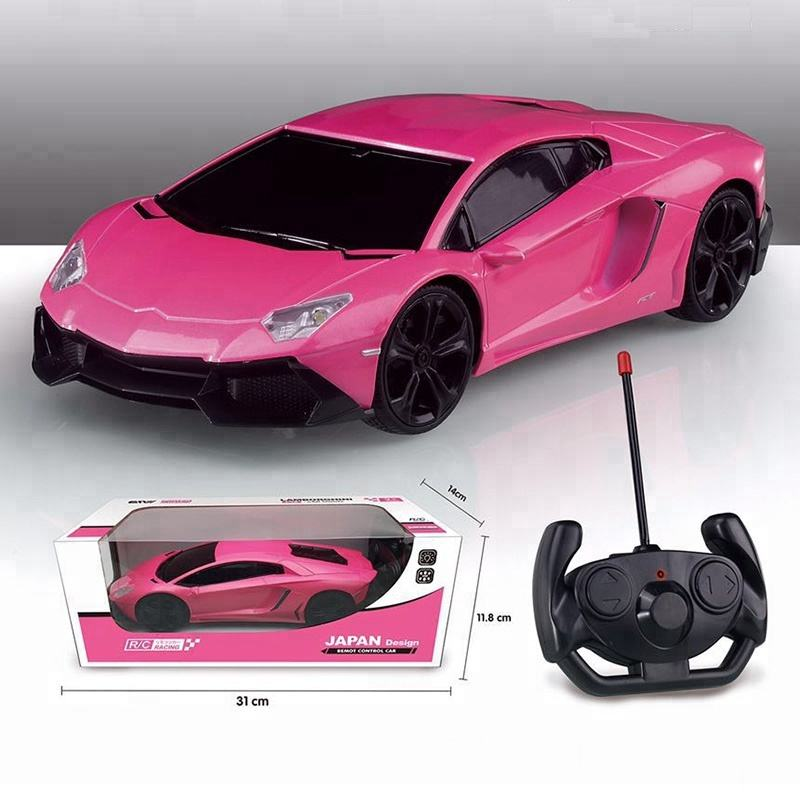 Best Choice Remote Control Car Sport Racing Car Lamborghi RC Car Toys Pink Orange Green Yellow 4 Colors