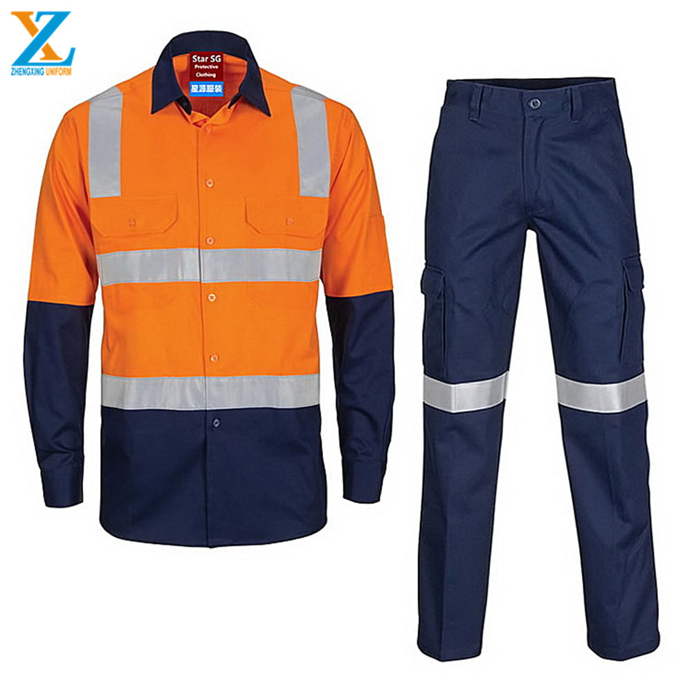 chemical resistant coveralls suits with zipper cover flap