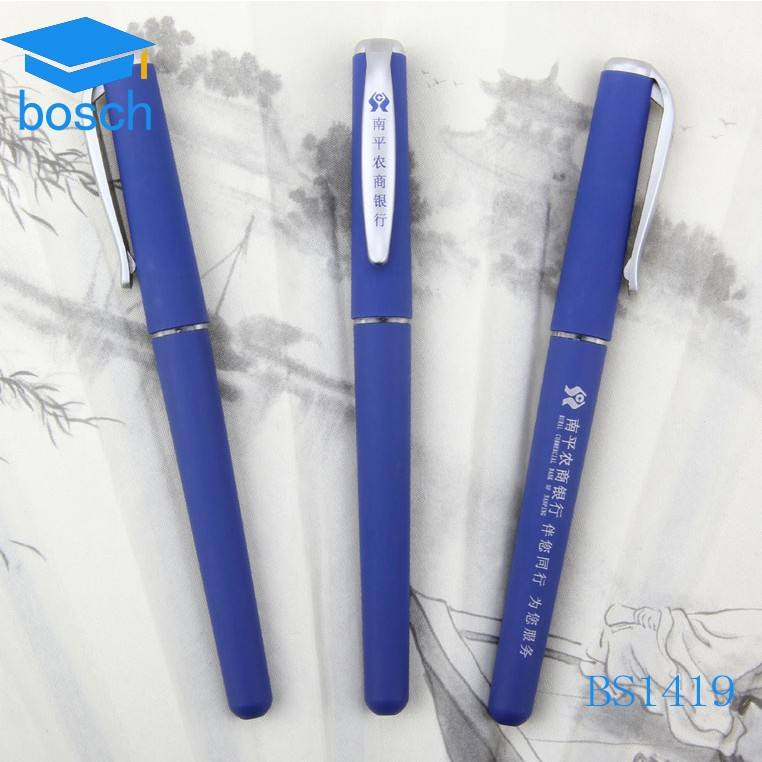 Hot selling 0.5mm blauwe kleur tattoo gel inkt pen
