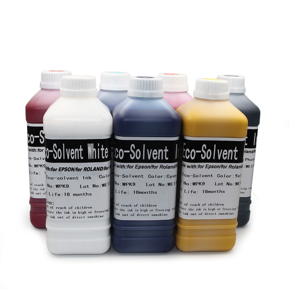 OCBESTJET Mimaki Cjv Ink For EPSON MIMAKI ROLAND MUTOH Oil Based Eco Solvent White Ink